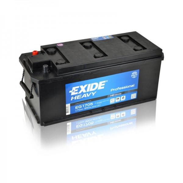 Exide-EG1705-Heavy-Professional-170Ah-LKW Batterie
