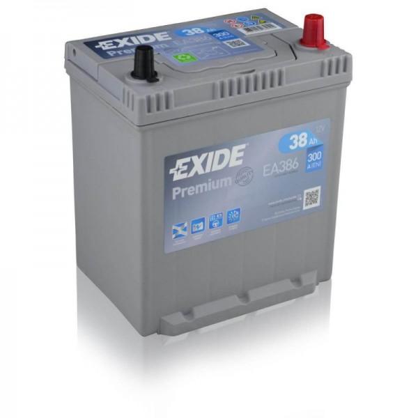 Exide-EA386-Premium-38Ah-Autobatterie