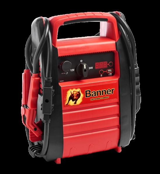 Banner Power Booster PB12/24 (PS12/24) 12V & 24 V 4600/2300A PKW & LKW Starthilfegerät